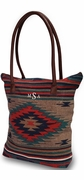 Southwestern Design Tote Bag|Monogram