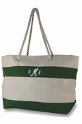 Stripe Beach Bag|Personalized|Monogrammed