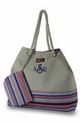 Striped Summer Tote Bags|Monogram
