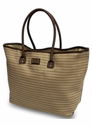 Striped Tote Bag for Women