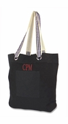 Tall  Ribbon Tote Bag|Personalized
