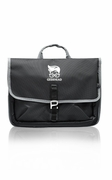 Two Toned Messenger Laptop Bag