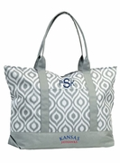 University Kansas Tote Bag - Monogrammed|Personalized