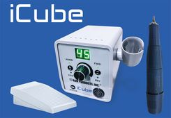 iCube Laboratory Set with Controller, 45K RPM Handpiece and On/Off Pedal