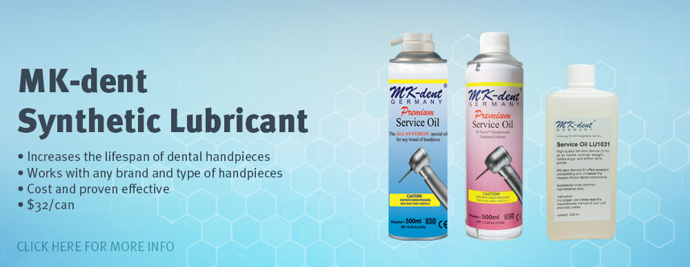 MK-Dent Synthetic Lubricant