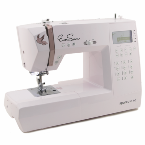 EverSewn Sparrow30 - 310 Stitch Computerized Sewing Machine + Table