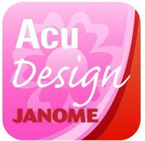 Janome AcuDesign App *Includes 650 Embroidery Designs  <p>Edit, Import and Export Designs</p>