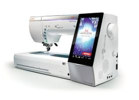 Janome Horizon Memory Craft 15000 V2  <p><b><i><font color=RED>* INCLUDES A FREE BONUS KIT+ FREE UNLIMITED LESSONS+5 Years EXTENDED WARRANTY ($350.)</font></b></i></p>