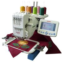 Janome MB4S 4-Needle Embroidery Machine with Extended 10 Year Warranty<br><b><i><font color=red>Now includes FREE MB4 Hat Hoop  FREE Quick Snap Hoop Set and Embroidery Starter Kit</br></b></i></font color=red>