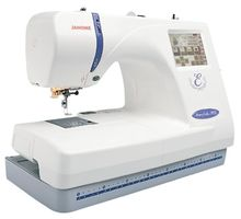 Janome Memory Craft 300E Embroidery Sewing Machine