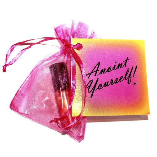 Anoint Yourself!™ Hand-made Anointing Oil for Consecration by Beauty for Ashes®  Frankincense Cassia Cinnamon Semi-Concentrate Prayer Roll-On 1/3 oz.