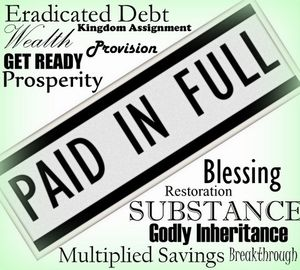Financial Curse Breaking and Provisional Blessing by Janet Mata - FREE!