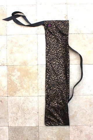 Leopard Print Worship Flag Bag with Black Accents by Beauty for Ashes®