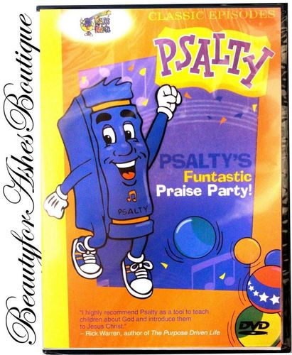 Psalty Funtastic Praise Party! Kids Worship Live Musical Stage Show Fun DVD