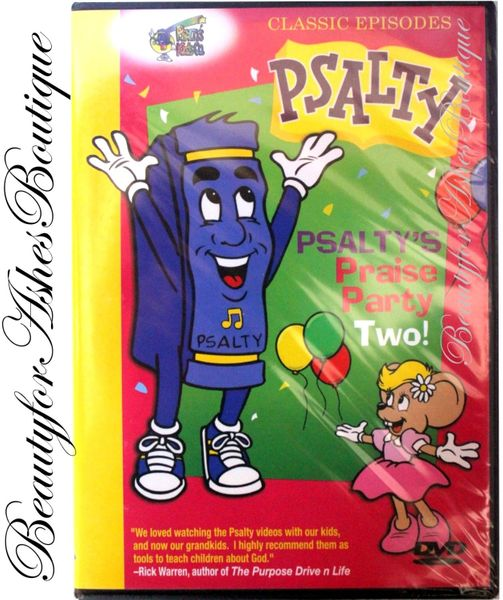 Psalty Praise Party Two! DVD - Musical Worship Skit Stage Show Live