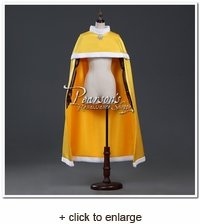 Belle Satin Round Shoulder Cape