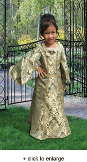 Child's Baroque Medieval Gown