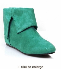 Classic Medieval Low Boot