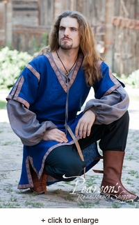 Classic Short Sleeve Medieval Overtunic