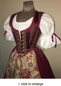 Faire Maiden Bodice