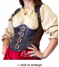 Leather Rogue Corset