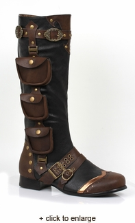 Mens Seafarer Steampunk Boot