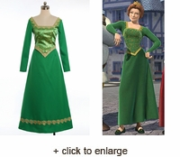 Princess Fiona Wedding Dress Costume