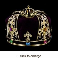 Royal Plum King's Crown