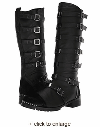 Sale Buckled Steampunk Boot