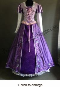 Sale Tangled Rapunzel Embroidered Dress
