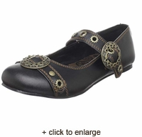 Sale Steampunk Mary Jane Flats