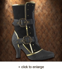 Viceroy Steampunk Boots for Women