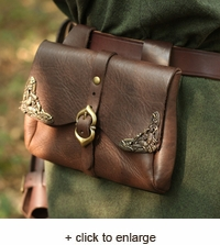 Viking Leather Pouch