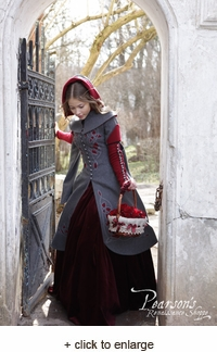 "Woolen Coat ""Red Riding Hood"""