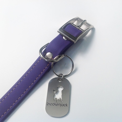 Brookenjack Luxury Waterproof Dog Collars