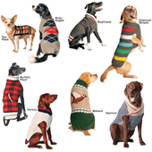 Classic Wool Dog Sweaters