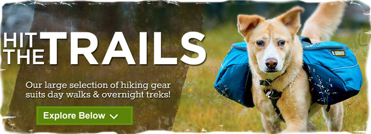 Dog Hiking Gear | Dog Packs & Essential Gear For Hiking Adventures