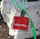 Dog Poop Bag Carrier For Leash - Small Dog