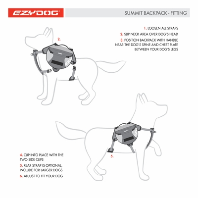EzyDog Summit Pack