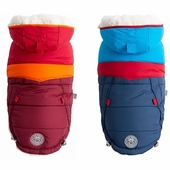 Trekking Parka - Sherpa Lined Water Resistant Dog Coat