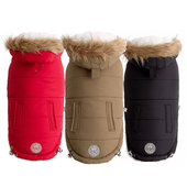 Urban Parka - Sherpa Lined Water Resistant Dog Coat