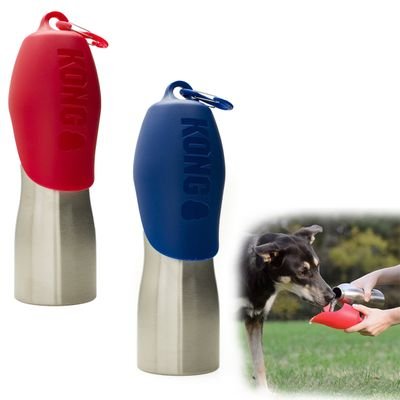 Kong H2O Stainless Steel Dog Water Bottle 25 oz.