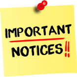 Image result for important notices