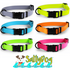 SaltyDog™ ColorSplash Saltwater-Proof Adjustable Collar