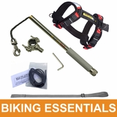 2018 WalkyDog Plus Dog Bike Leash Package