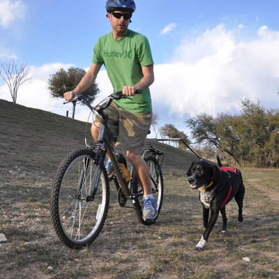 WalkyDog Plus Dog Bike Leash