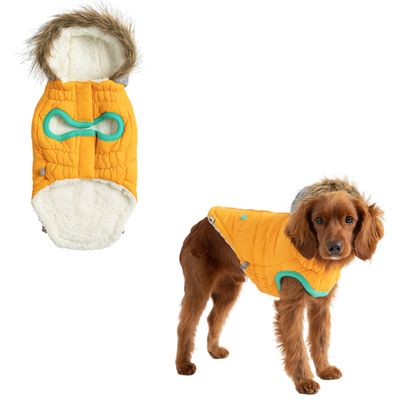 Winter Sailor - Sherpa Lined Water Resistant Dog Coat
