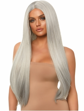 Long Straight Center Part Wig