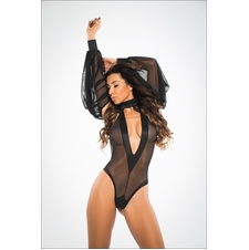 Adore A1018 Heavenly Bodysuit W/Plunging Neckline