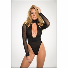Adore A1020 Just A Kiss Sheer Bodysuit